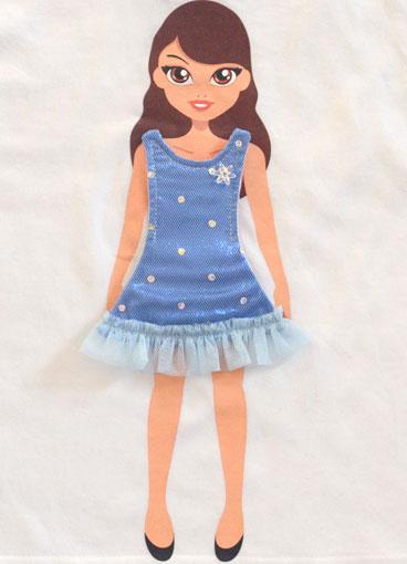 Вот такое сменное платье на сайте Lotty Dotty стоит 12 долларов