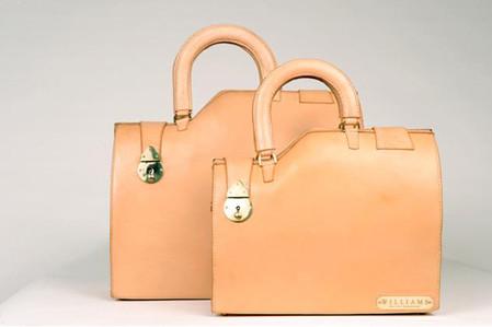 Пожалуй, из всей коллекции эти сумки — самые незамысловатые