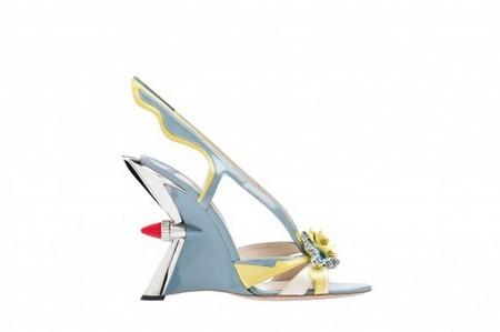 Смелая и яркая весенняя коллекция обуви от Prada — фото 5