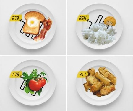Тарелка — весы для тех, кто следит за весом… порции :-)