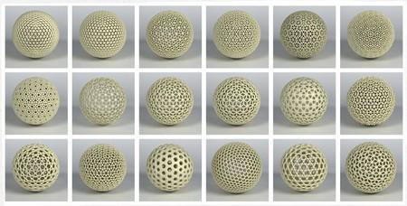 Варианты внешней поверхности Dust Ball