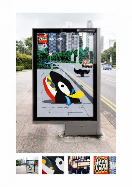 Креативные рекламные кампании конструктора LEGO — фото 6