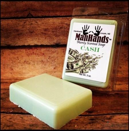 оригинальное мыло с запахом денег