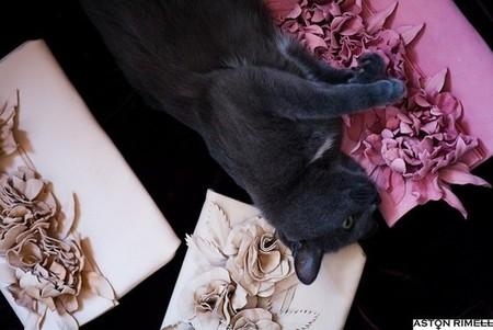 Любимая кошка Настасии — талисман марки Aston Rimell