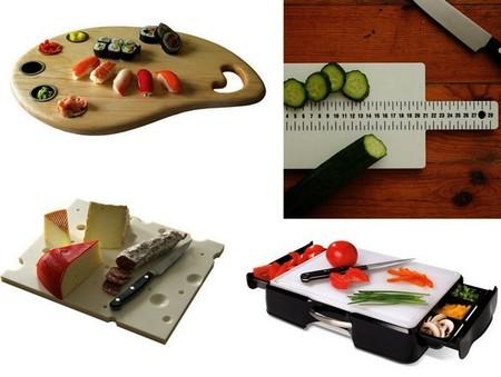 Креатив на кухне – необычные разделочные доски. — фото 1