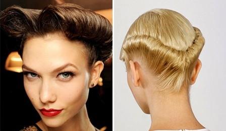 2013 на длинные густые волосы без челки