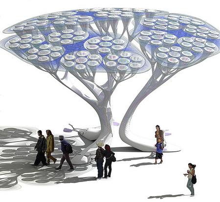 Treepods - деревья, фильтры или фонари? — фото 5