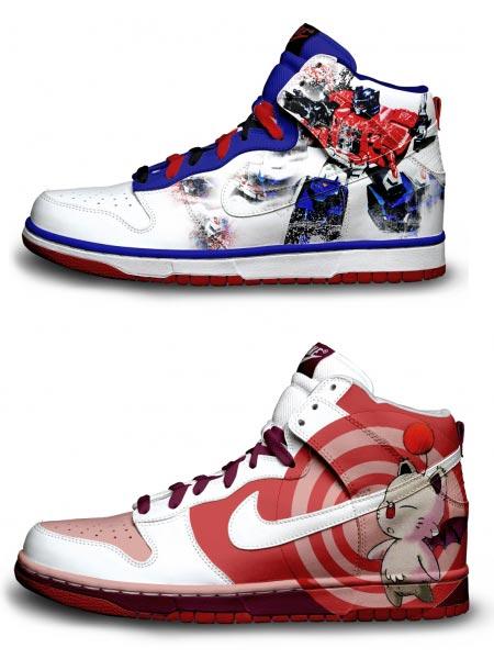 Расписные кроссовки от Даниэля Риза — фото 8