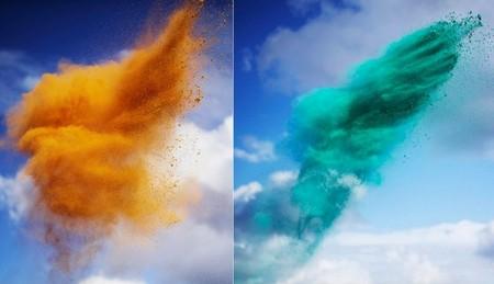 Рукотворные цветные облака от Роба и Никки Картер — фото 4