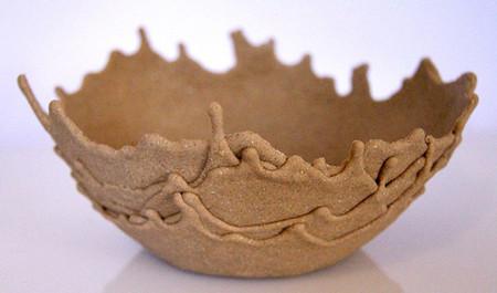 Вспоминая берег моря... Песчаная чаша Sand Bowl от Leetal Rivlin. — фото 1