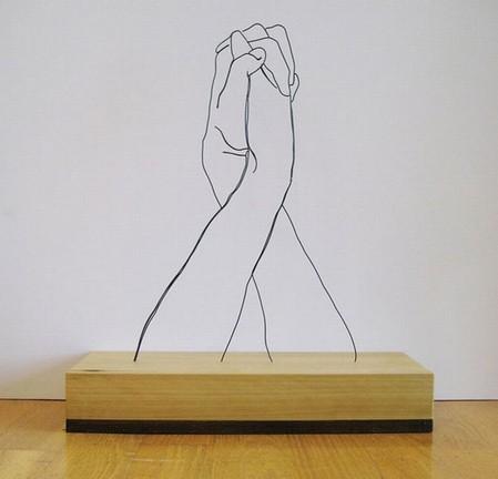 Проволочные скульптуры Гевина Ворта — фото 5