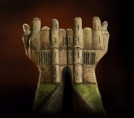 Бодиарт для рук в рекламной кампании Ecclesiastical Insurance — фото 1