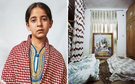 Духа, 10 лет, лагерь палестинских беженцев в Хевроне.