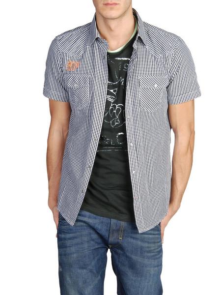 рубашка в черном варианте