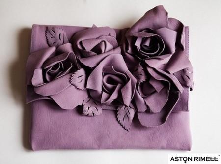 """""""Цветущие"""" клатчи от Aston Rimell — фото 6"""