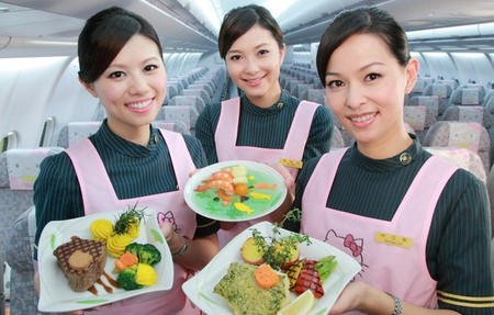 Лайнер Hello Kitty, приводящий в восторг тайваньских пассажиров. — фото 3