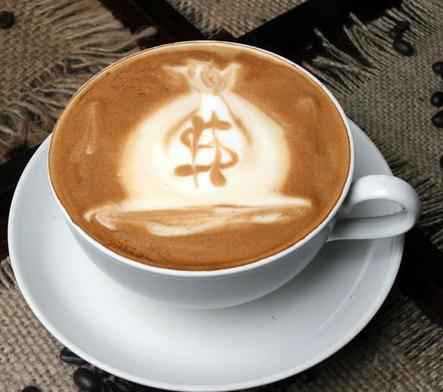 Присыпка из какао часто используется при дополнении рисунка