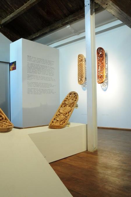 Скейтборд как арт-объект от Тобиаса Мегерле — фото 3