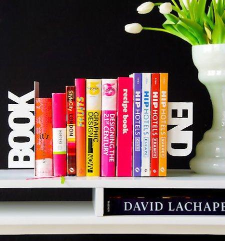 Дизайн на книжной полке: креативные подставки для книг — фото 12