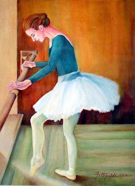 Она не видит холст, но рисует очень яркие и жизнерадостные картины! — фото 3