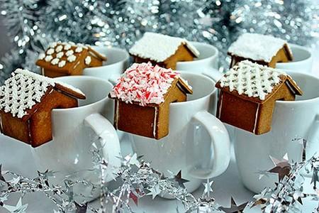 Новогодний декор для праздничных угощений — фото 19