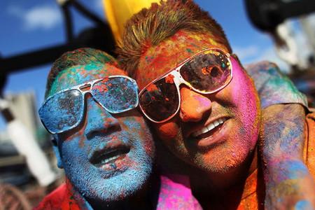 Фестиваль Красок Холи в Индии — фото 4