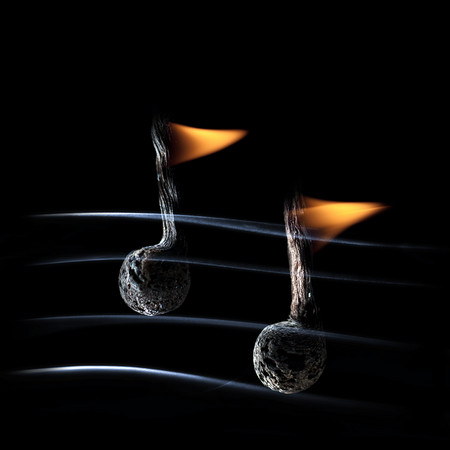 Из дыма и огня. Креативные фотографии горящих спичек. — фото 7