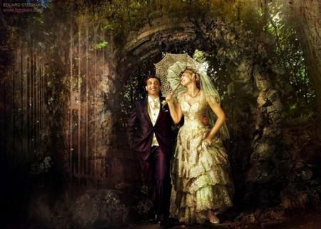 Оригинальные свадебные фотографии Эдуарда Стельмаха — фото 5