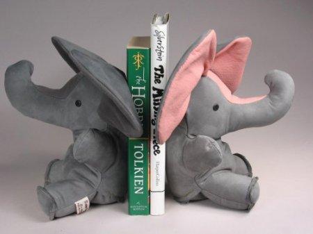 И просто плюшевые слоники