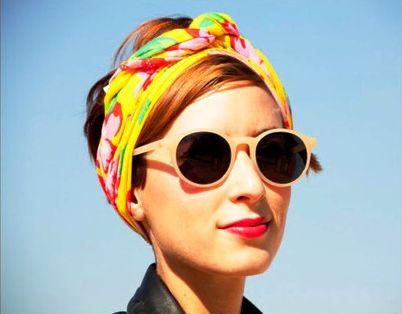 Нескромные косынки - модный тренд лета 2012 — фото 15