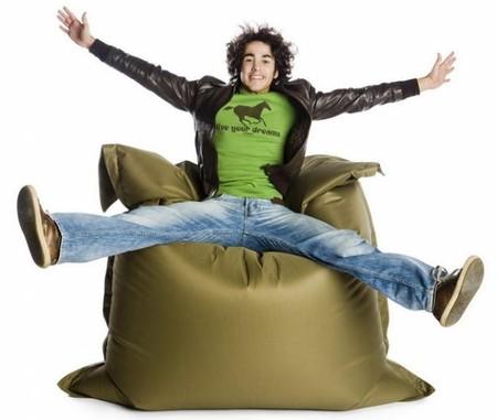 Кресло-мешок - уютный способ разнообразить интерьер — фото 13