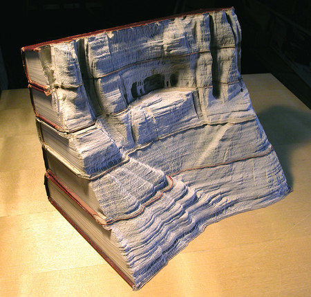 Скульптуры из книг от Гая Ларами (Guy Laramee). — фото 7