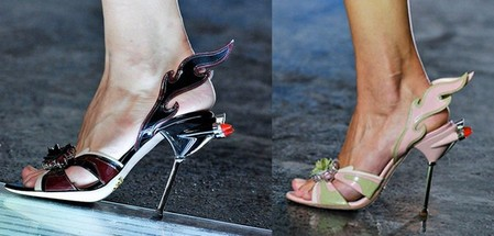 Смелая и яркая весенняя коллекция обуви от Prada — фото 10