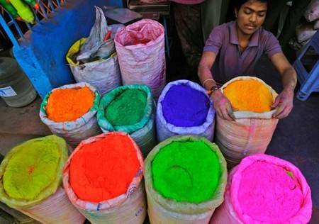 Фестиваль Красок Холи в Индии — фото 9