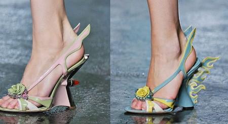 Смелая и яркая весенняя коллекция обуви от Prada — фото 11