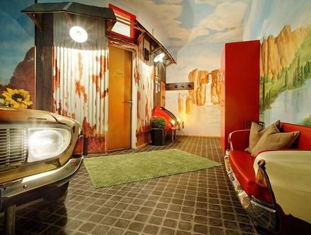 Тематический отель V8 - для влюбленных в автомобили — фото 7