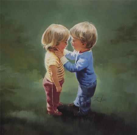 Очарование детства в творчестве Дональда Золана — фото 5