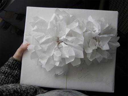 Подарочный бант из бумаги