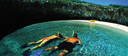 Необычный скрытый пляж острова Playa de Amor — фото 5