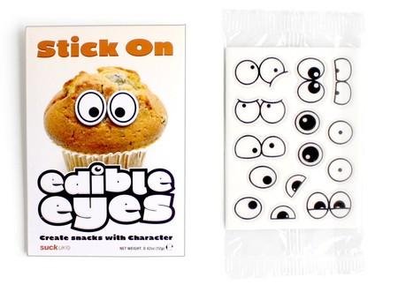Еда, которая «строит глазки» с наклейками Edible eyes — фото 7