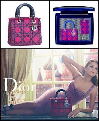 Лимитированный выпуск теней Lady Dior - посвящение культовой сумочке — фото 1