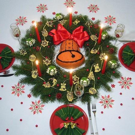 Новогодний декор для праздничных угощений — фото 2