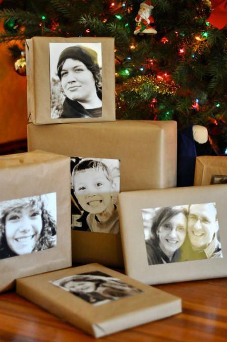 Упаковка одинаковая, а фото делает подарок неповторимым