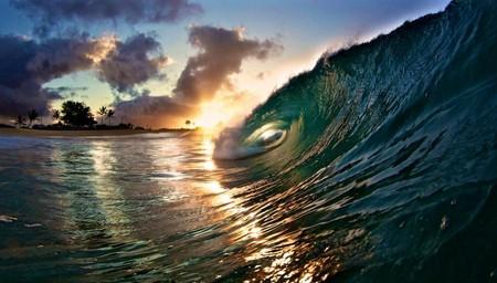 Фотографии Кенжи Кромана: в самом сердце океанской волны — фото 3