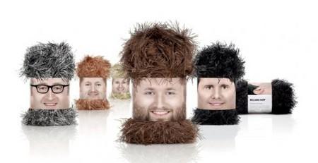 Даже борода не согреет в холода! Тут свитер нужен.