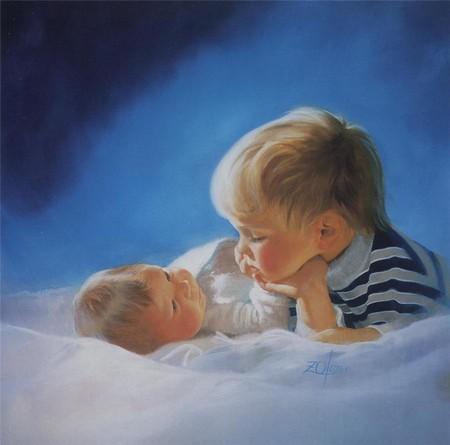 Встреча с младшим братом или сестренкой всегда очень волнительный момент