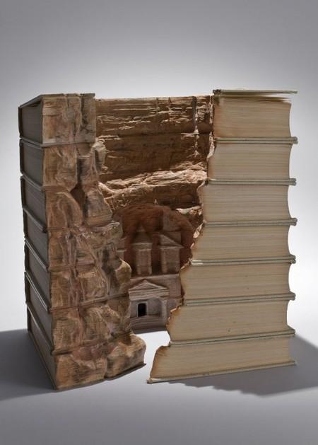 Скульптуры из книг от Гая Ларами (Guy Laramee). — фото 1