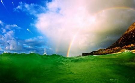 Фотографии Кенжи Кромана: в самом сердце океанской волны — фото 10