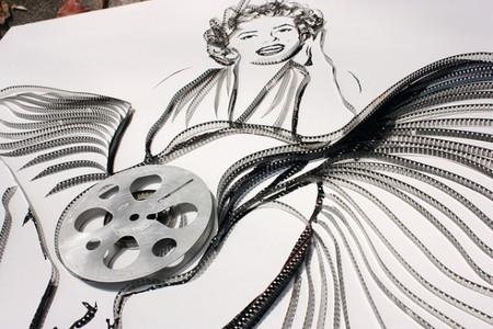 Портреты знаменитостей из старых магнитофонных кассет — фото 8