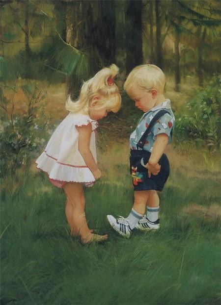 Очарование детства в творчестве Дональда Золана — фото 16